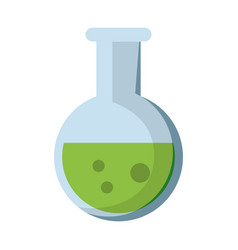 test tube chemistry school vector image