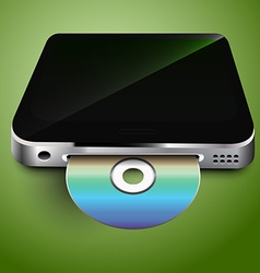 Cd in the mobile device vector