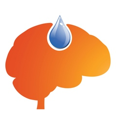 Fuel for Brain vector image vector image