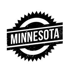 Minnesota rubber stamp vector