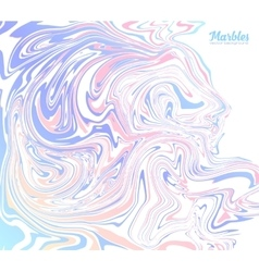 Pink and blue trendy colors marble abstract vector image vector image