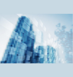 Abstract blur background of business office vector