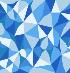 blue abstract polygon background vector image