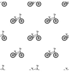 Bmx cyclist bicyclist athletes sportsman bike for vector