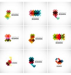 Company logo branding elements vector image