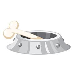 dog bowl vector image