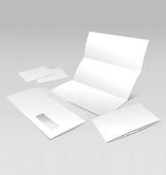 Documents template vector