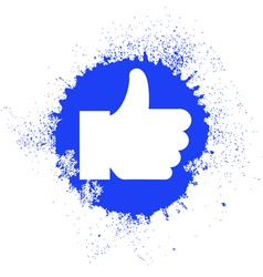 Facebook like logo vector