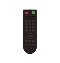 tv control remote vector image