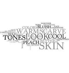 What are your colors text word cloud concept vector