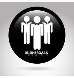 Businessman design vector