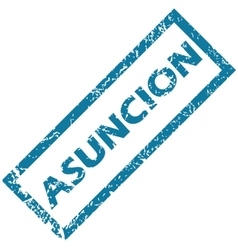 Asuncion rubber stamp vector