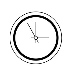 Business clock timer hour break icon line vector