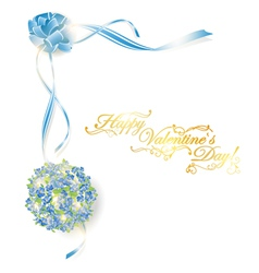 holiday frame vector image