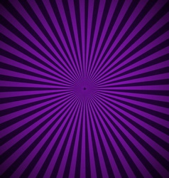 Purple radial rays abstract background vector image