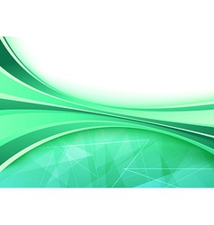 Crystal wave lines background abstraction vector