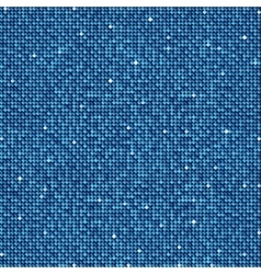 Background with shiny blue sequins Eps 10 vector image vector image