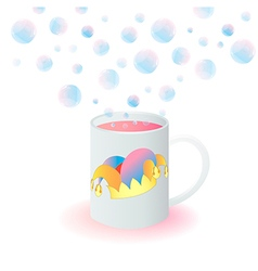 bubble vector image