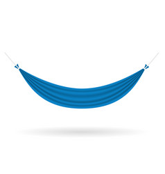 hammock hanging cloth for rest stock vector image