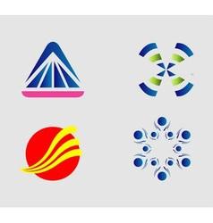 Logo collection vector image