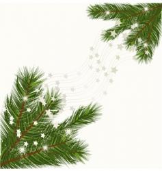 pine corner vector image vector image
