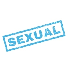 Sexual Rubber Stamp vector image vector image