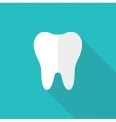 Tooth icons vector image vector image