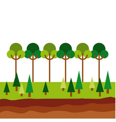 Forest icon image vector