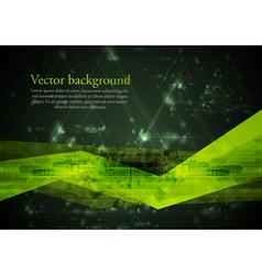 Abstract hi-tech vector