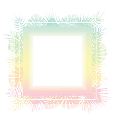 abstract template with pastel gradient and vector image