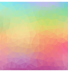 Geometric abstract colorful low poly background vector