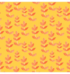 Watercolor tribal seamless pattern vector