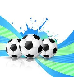 football design vector image vector image