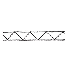 Greek meander is a border design also known as vector