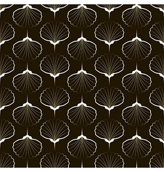 Seamless pattern graphic ornament sea stylish back vector