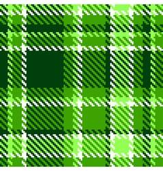 Seamless Checkered vector image vector image