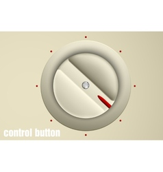 Set of buttons volume control vector