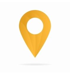Map pointer logo vector