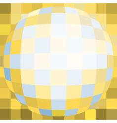 stained-glass window background vector image