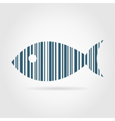 Abstract fish2 vector