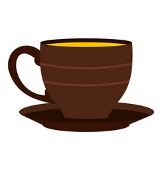 Cup icon isolated vector