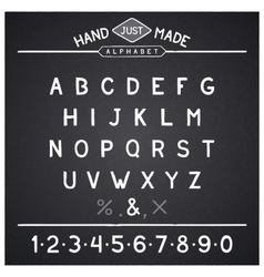 Just font vector image