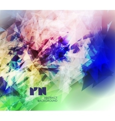 Abstract modern colorful vector