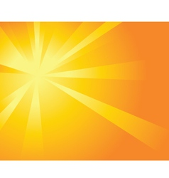 sun burst background vector image