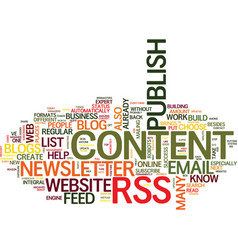 Are you at risk of web content chaos text vector