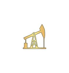 Oil pump computer symbol vector