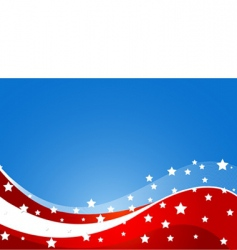 usa flag theme vector image