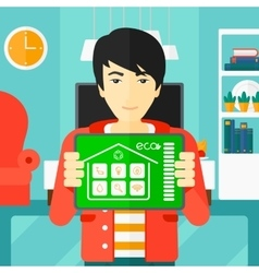 Smart home application vector
