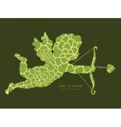 Abstract green natural texture shooting vector