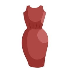 Dress icon cartoon style vector image vector image